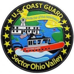 USCG Sector Ohio Valley Seal Plaque