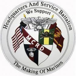 USMC MCRD Headquarters and Service Battalion