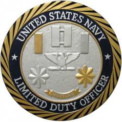 USN LDO Limited Duty Officer Plaque