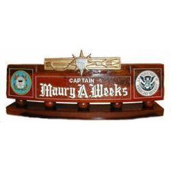 US Coast Guard Marine Safety Desk Nameplate