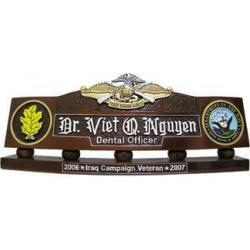 US Fleet Marine Force Desk Nameplate