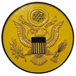 US Great Seal Variation Seal Plaque