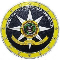US Intelligence Community Seal Plaque