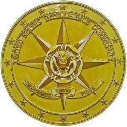 US Intelligence Community V1 Seal Plaque