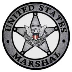 US Marshal Plaque