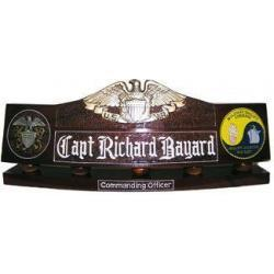 US Naval Reserve Desk Nameplate