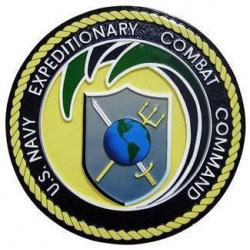 US Navy Expeditionary Combat Command Seal Plaque