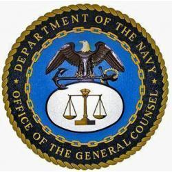 US Navy Office of the General Counsel Seal Plaque