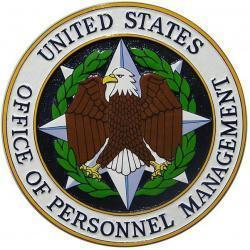 US Office Of Personnel Management Plaque