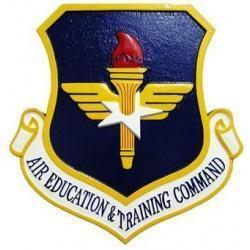 air education and training command aetc plaque