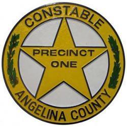 angelina county police badgel plaque
