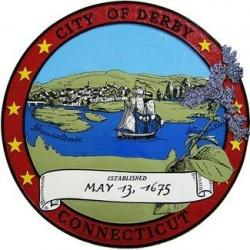 city of derby connecticut seal plaque