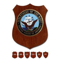 department of the navy plaque shield design