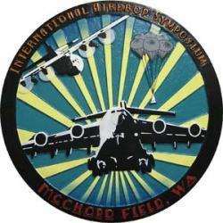 international airdrop symposium plaque- mcchord field washington