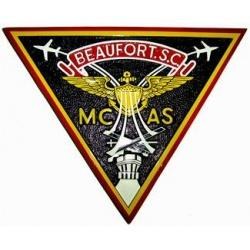 marine corps air station mcas beaufort patch plaque