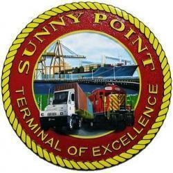 military ocean terminal sunny point plaque