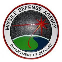 missile defense agency plaque