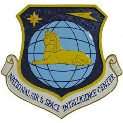national air and space intelligence center seal plaque