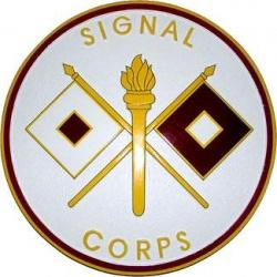 signal corps seal plaque