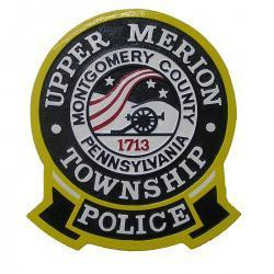 upper merion township police patch plaque9 2131531376