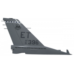 usaf tail flash plaque