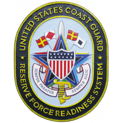 uscg reserve force readiness system plaque