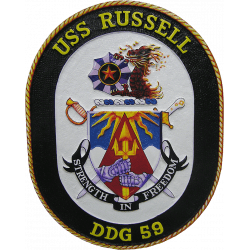 uss_russell_seal_plaque
