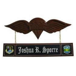 wing-insignia-desk-nameplate-design