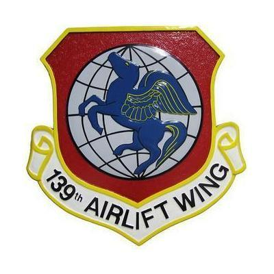 138th Airlift Wing Seal Plaque
