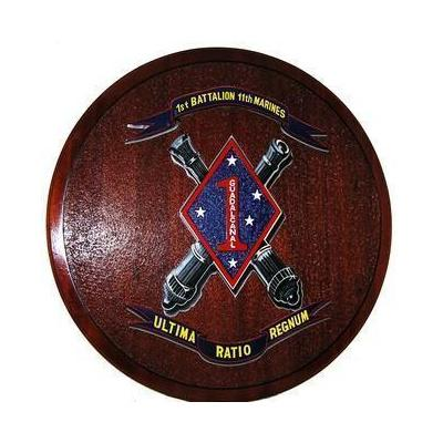 1st Battalion 11th Marines Deployment Plaque