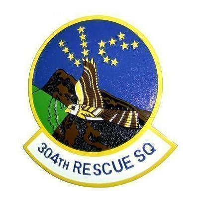 304th Rescue Squadron Plaque