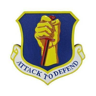 35th fighter wing attack to defend plaque