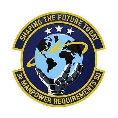 3rd Manpower Requirements Squadron Plaque