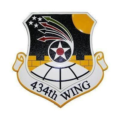 434th Wing Seal Plaque