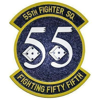 55th Fighter Squadron Patch