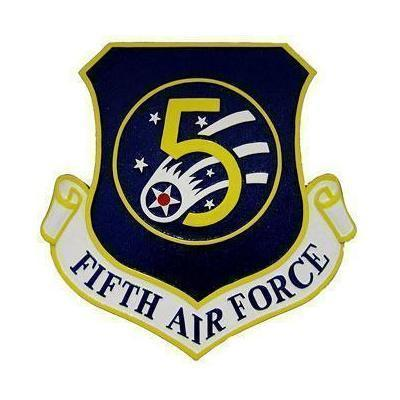 5th Air Force Logo Emblem Plaque