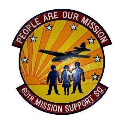 60th Mission Support Squadron Plaque