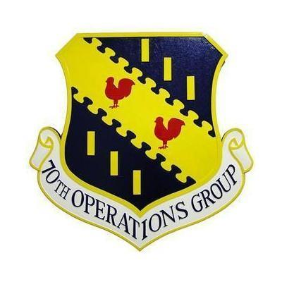 70th Operations Group Seal Plaque