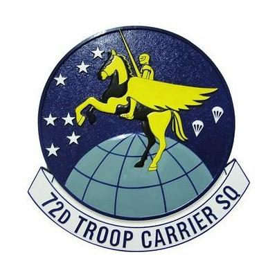 72d troop carrier squadron seal plaque