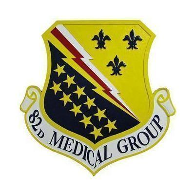 82D Medical Group Seal Plaque