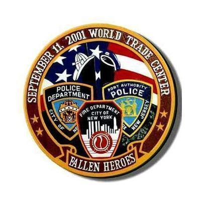 9 11 police firefighter and ems fallen heroes commemorative plaque 1
