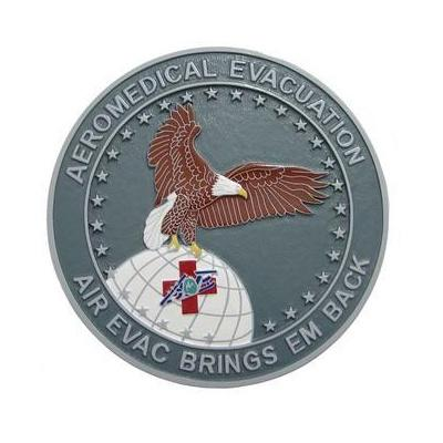 Aeromedical Evacuation Seal Plaque