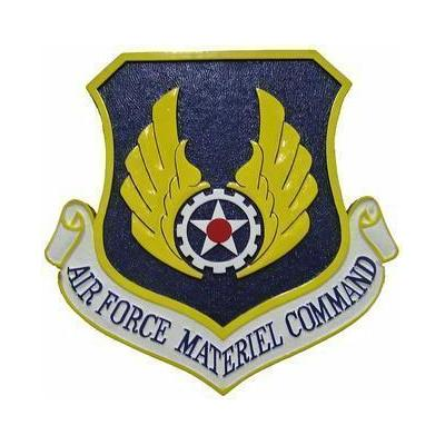 Air Force Material Command Seal Plaque