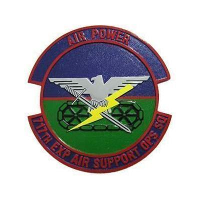 Air Power 717th ESOS Plaque