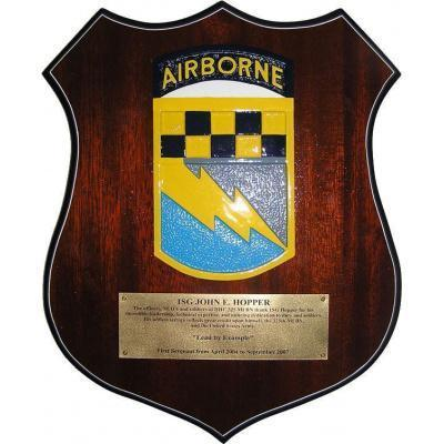 Army Airborne Presentation Plaque