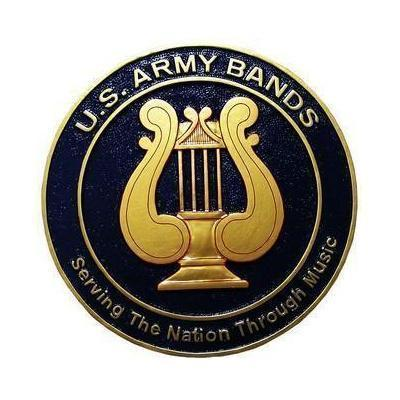Army Bands Plaque