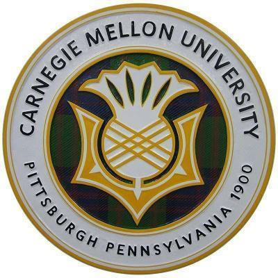 Carnegie Mello University Seal Plaque