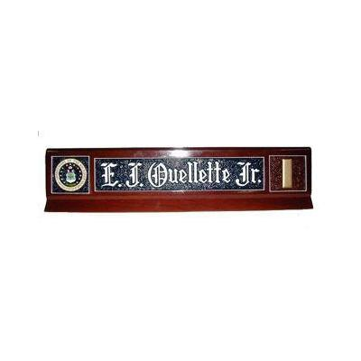 Classic Design Military Desk Nameplate 2