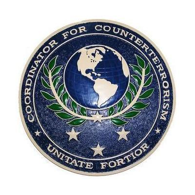 Coordinator For Counterterrorism Seal Plaque