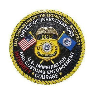 DHS US Office of Investigation Seal Plaque